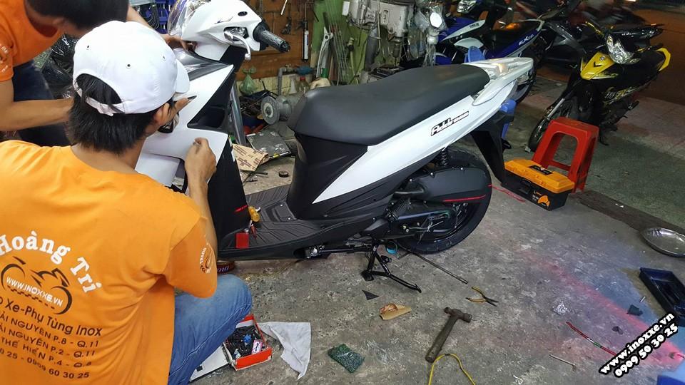 Gia dan keo xe Yamaha Janus va Suzuki Address moi - 2