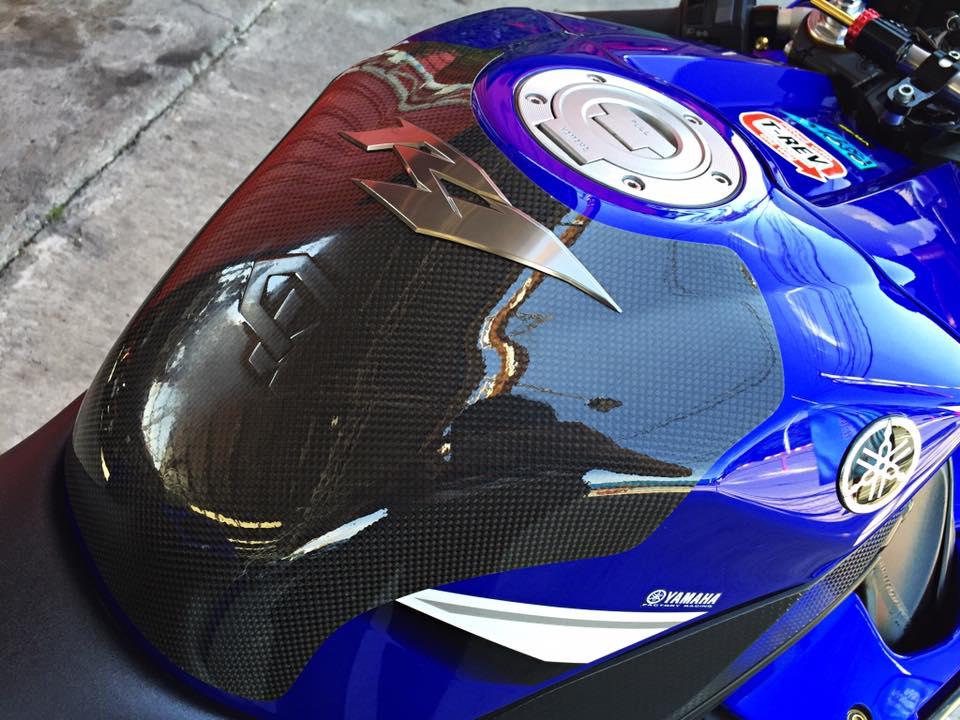 Hang khung YZFR1 trang bi tan rang goi do Racing - 9