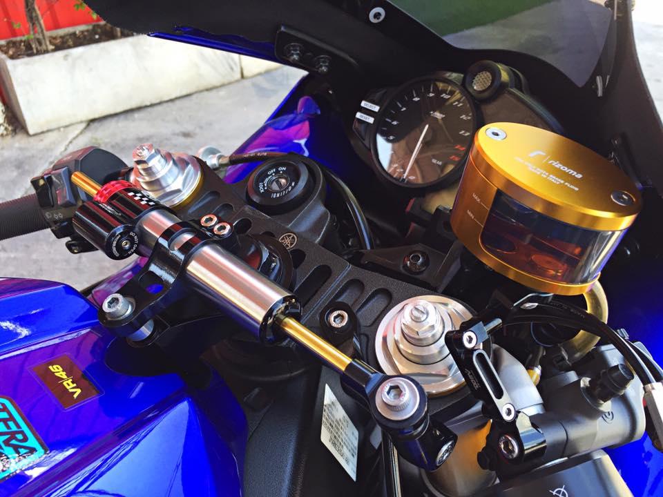Hang khung YZFR1 trang bi tan rang goi do Racing - 13