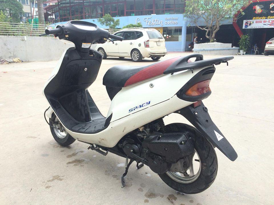 Honda Spacy 50cc nhap khau Nhat mau trang nguyen ban - 2