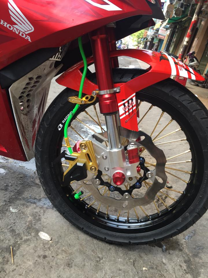 Honda Winner do leng keng voi dan chan day trang suc - 3