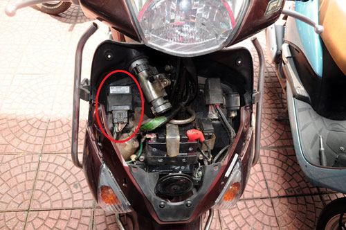 IC xe Honda Lead khoang 34 trieu dong nhung cac doi tuong trom cap dem ban khoang 500 nghin