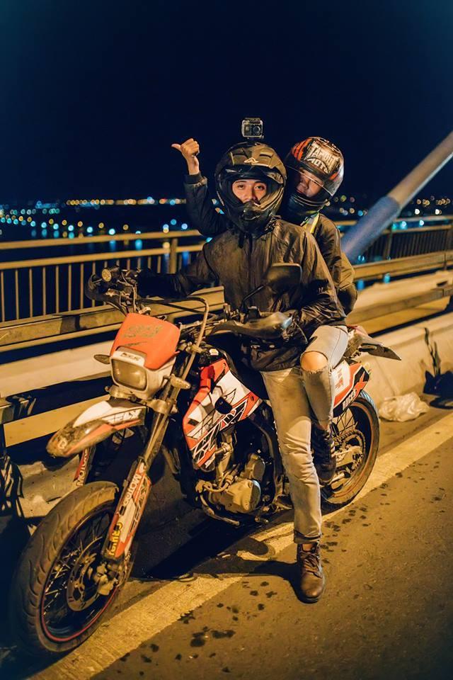 Kawasaki KLX 250 do po Akrapovic binh FCR 35 Racing va nhieu mon hay hay - 7
