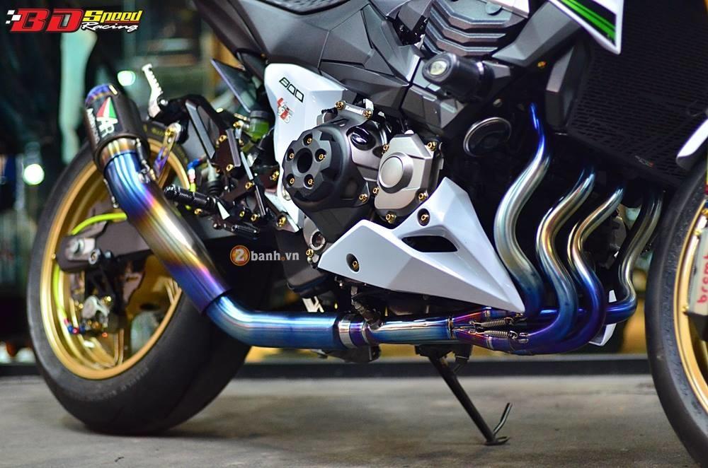 Kawasaki Z800 day kieu sa tren dat Thai - 8