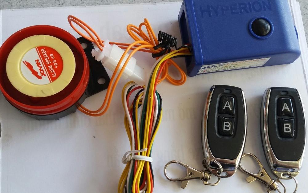 Khoa chong trom chip HYPER ket hop romote tim xe - 2