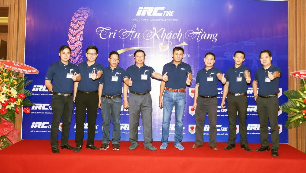 Lop xe Nhat Ban IRC dong hanh tren tung cay so cung nguoi Viet