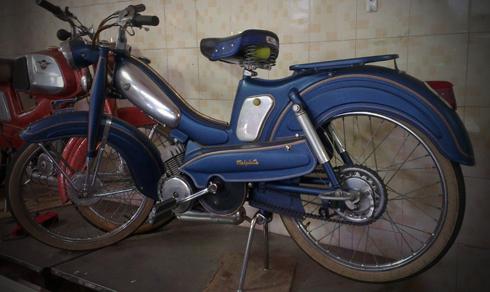 Motobecane AV88 la mau xe trong gia dinh AV cua Mobylette thuoc nhung nam 1950