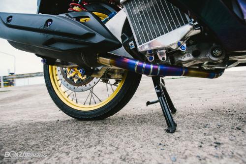Ngam Honda PCX 150 do vang sieu dat cua dan choi - 9