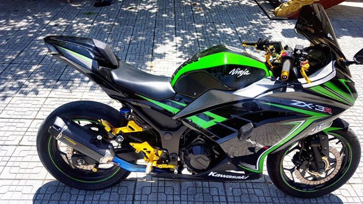 Ninja 300 phien ban ki niem 30 nam an tuong cung dan do choi hieu - 5