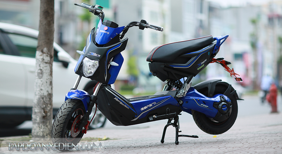 Phan biet xe dien Xmen S6 2016 chinh hang
