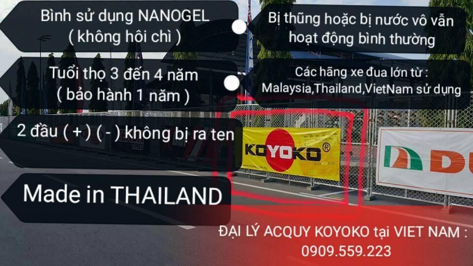 Acquy KOYOKO thuong hieu MALAYSIA Made In Thailand - 9