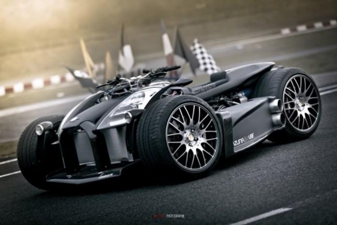 Sieu xe Wazuma V8F Matt Edition su ket hop suc manh giua R1 BMW va Ferrari