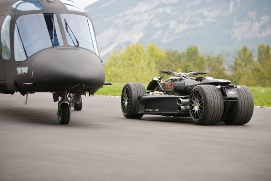 Sieu xe Wazuma V8F Matt Edition su ket hop suc manh giua R1 BMW va Ferrari - 3