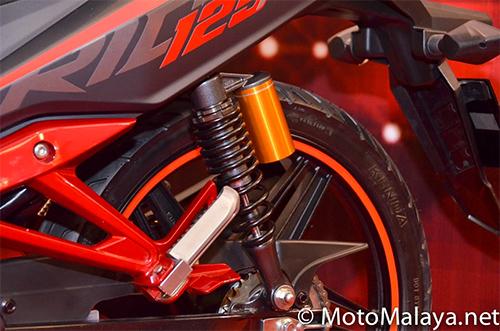 SYM Sport Rider 125i ra mat tai Malaysia - 10