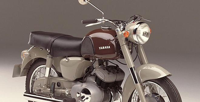Ten tuoi de che Yamaha duoc tao nen tu nhung mau xe huyen thoai