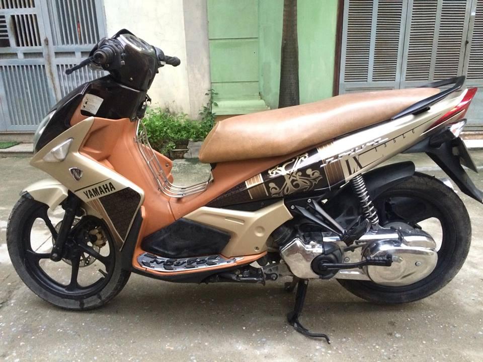 Yamaha Nouvo LX 135cc mau nau vang 2011 nhu moi - 3