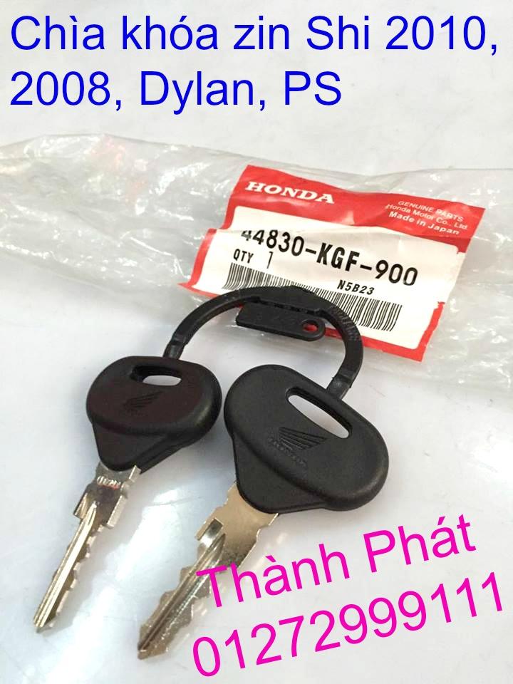 Chuyen Phu tung zin Do choi xe SHi150 2002 2013 Dylan PS - 13