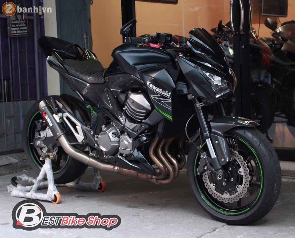 Kawasaki Z800 do sieu ngau den tu Best Bike Shop