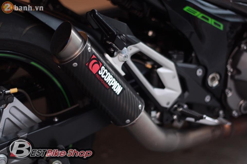 Kawasaki Z800 do sieu ngau den tu Best Bike Shop - 15