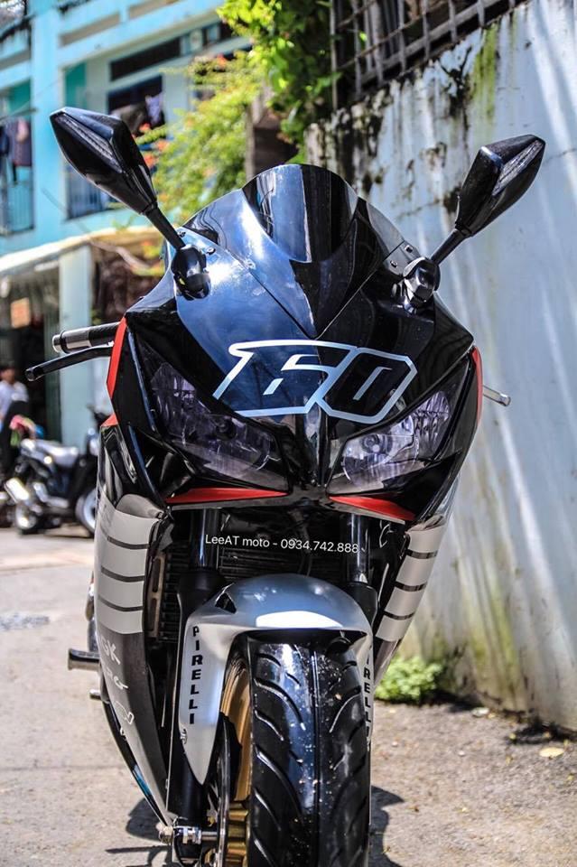 Lot xac Hornet 250 thanh thanh mau xe the thao Honda CBR1000RR 2015 - 3