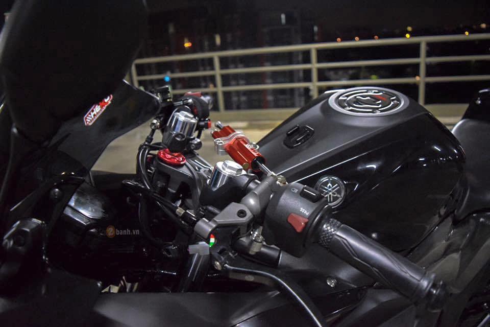 Yamaha R3 do day phong cach voi phien ban Dark Knight - 5