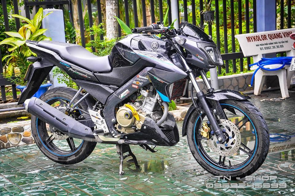 Yamaha FZ 150 trang bi nhieu option tai mien Tay song nuoc