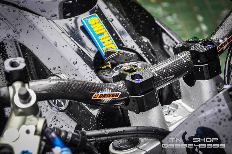 Yamaha FZ 150 trang bi nhieu option tai mien Tay song nuoc - 7