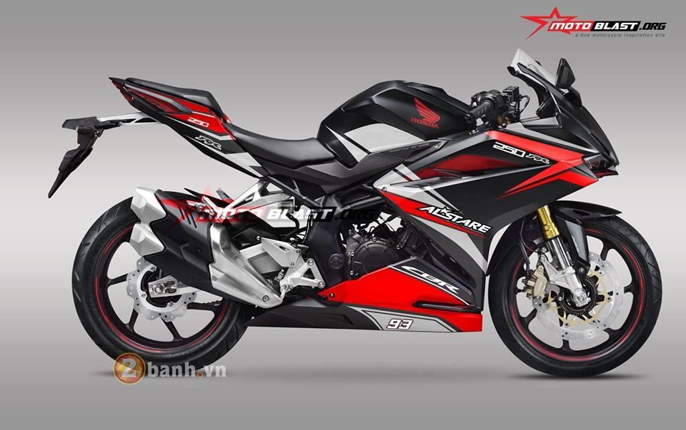Bo suu tap tem day phong cach danh cho chiec Honda CBR250RR 2017 - 34