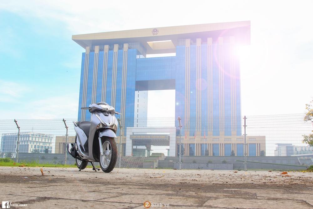 Cam nhan thuc te tren Honda SH 150i 2017 sau 300km