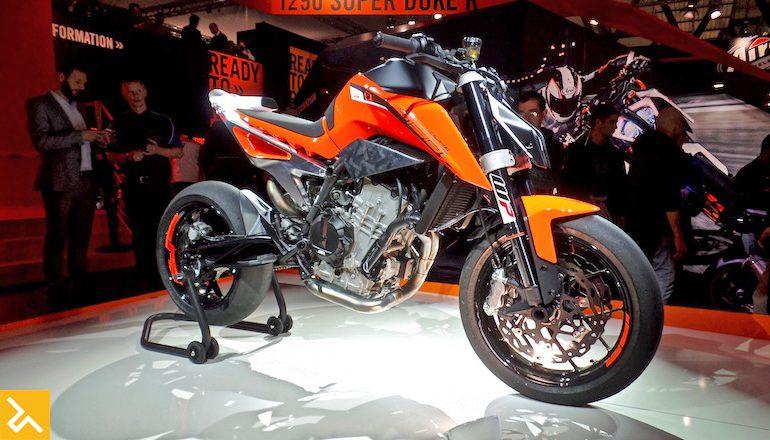 Clip Suc manh day an tuong cua KTM 790 Duke Prototype
