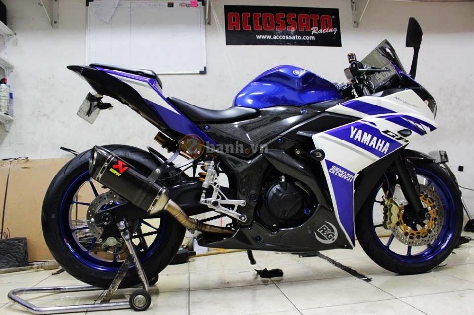 Yamaha R25 trong ban do cuc chat den tu Indonesia - 3