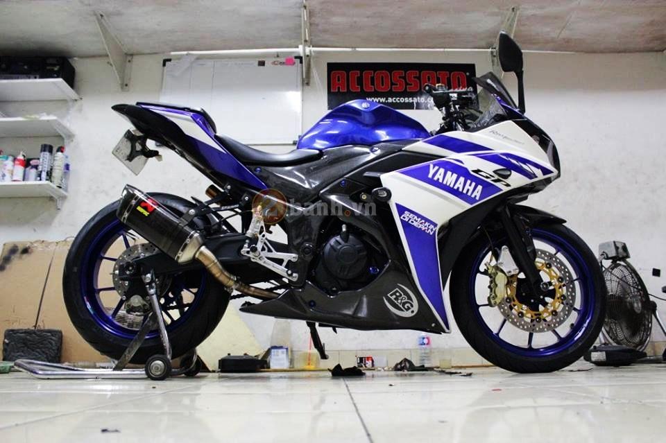 Yamaha R25 trong ban do cuc chat den tu Indonesia - 9