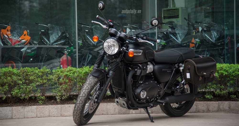 Chi tiet Triumph Bonneville T100 Black 2017 dau tien vua ve Viet Nam - 2