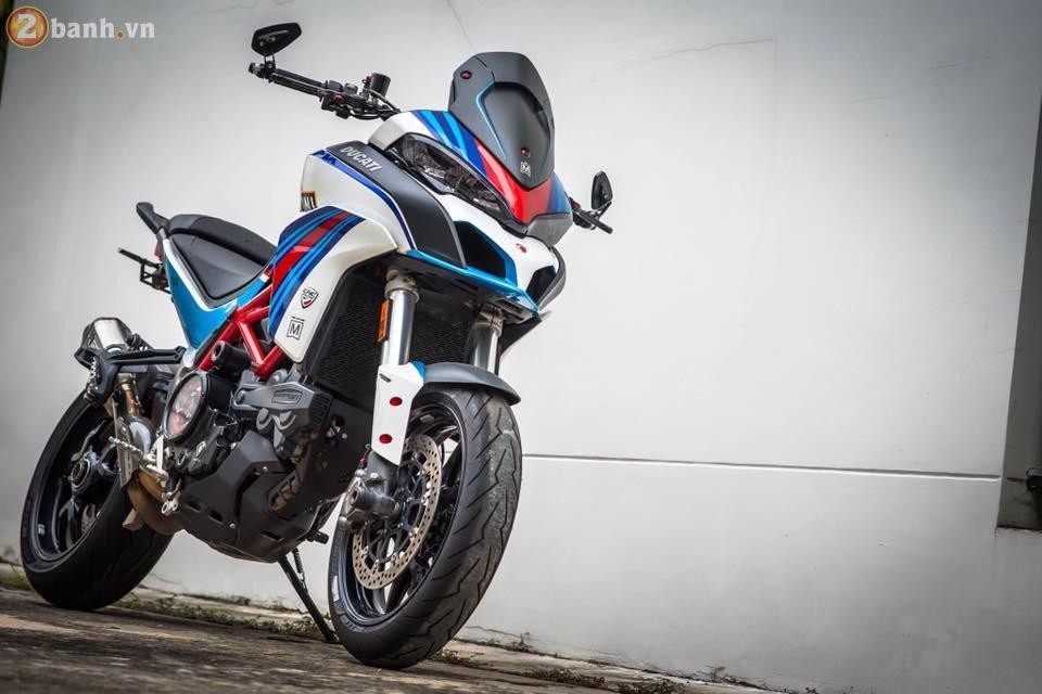 Ducati Multistrada 1200 trong ban do cuc chat va day phong cach cua nguoi Thai