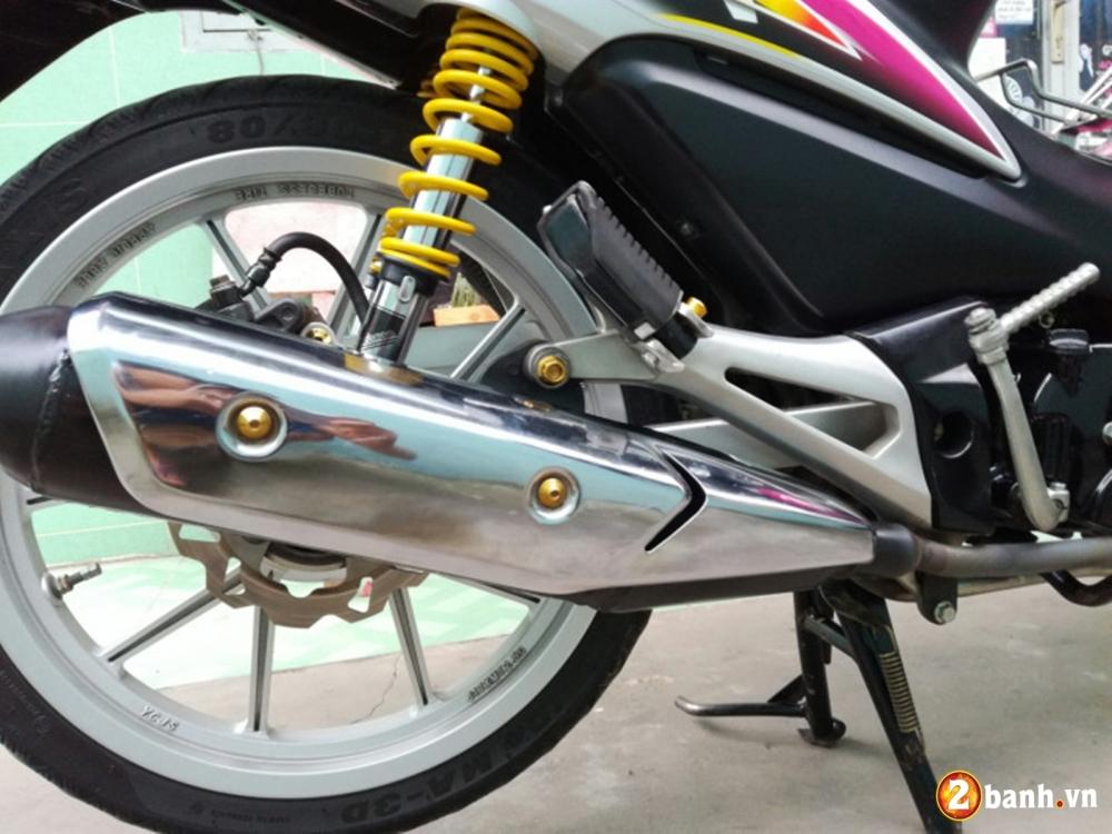 Honda Wave don nhe cuc dep voi Style trang hong rang ro - 5