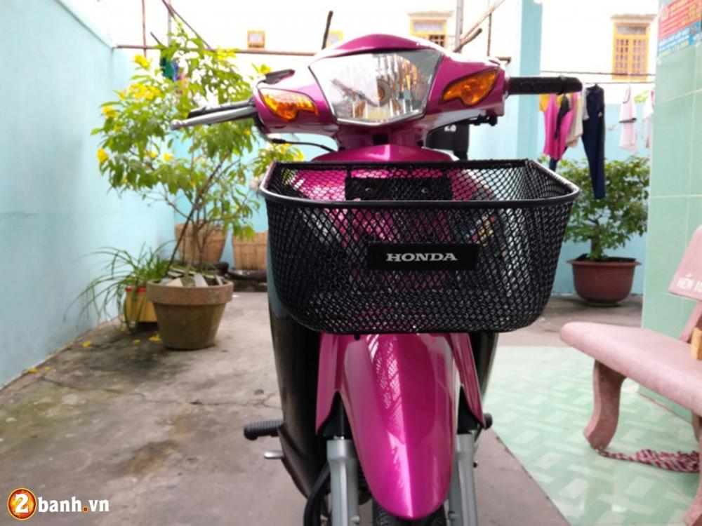 Honda Wave don nhe cuc dep voi Style trang hong rang ro - 9