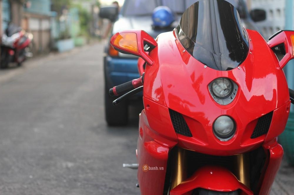 Huyen thoai troi day Ducati 999S trong ban nang cap day an tuong - 3
