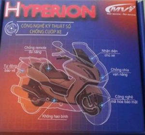 Khoa chong trom xe may thong minh Hyperion