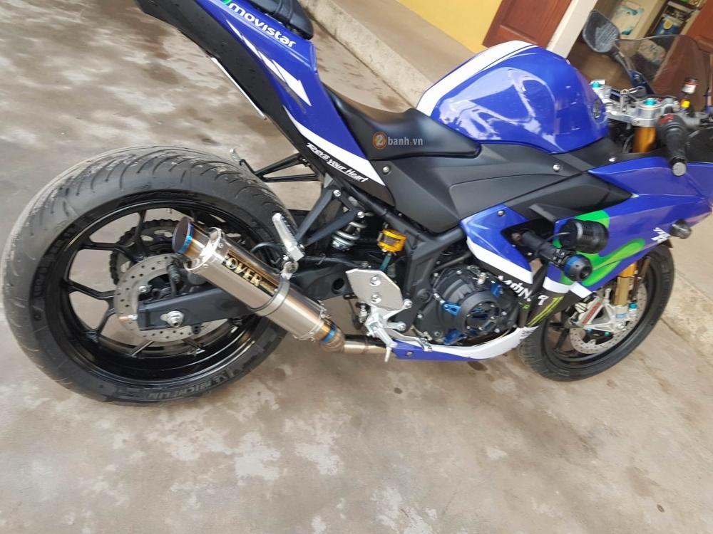 Yamaha R3 ban do day an tuong va chat choi tai VN - 5