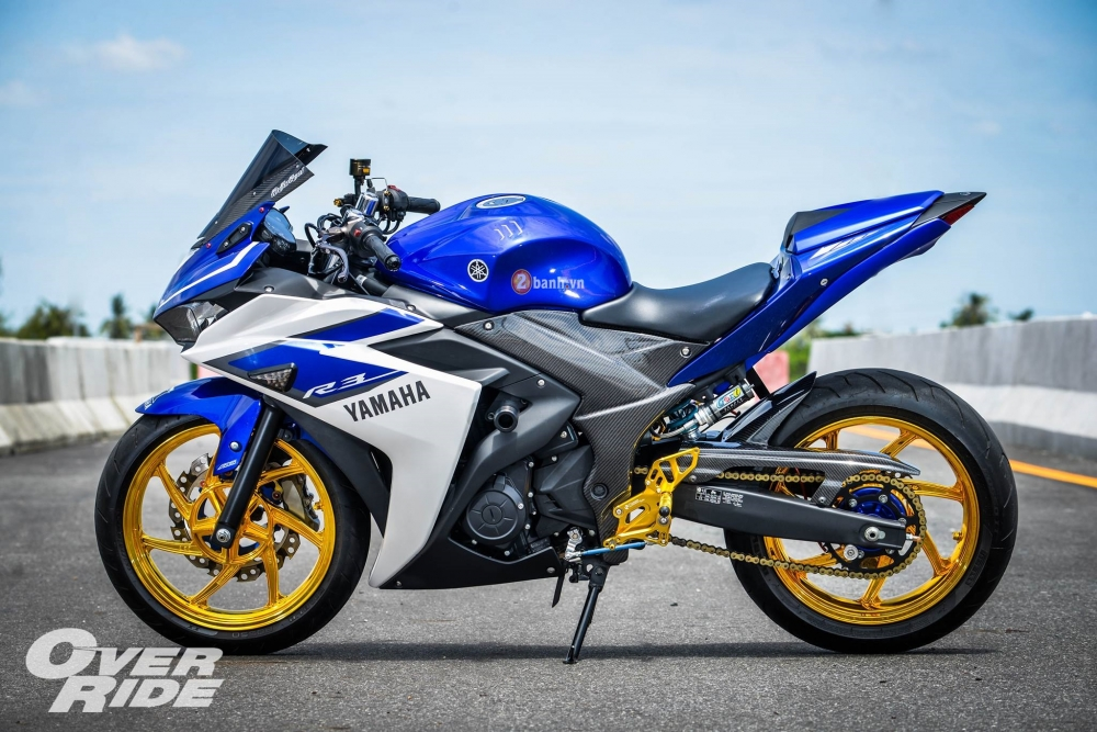 Yamaha R3 do day an tuong trong phien ban Blood RSeries - 2