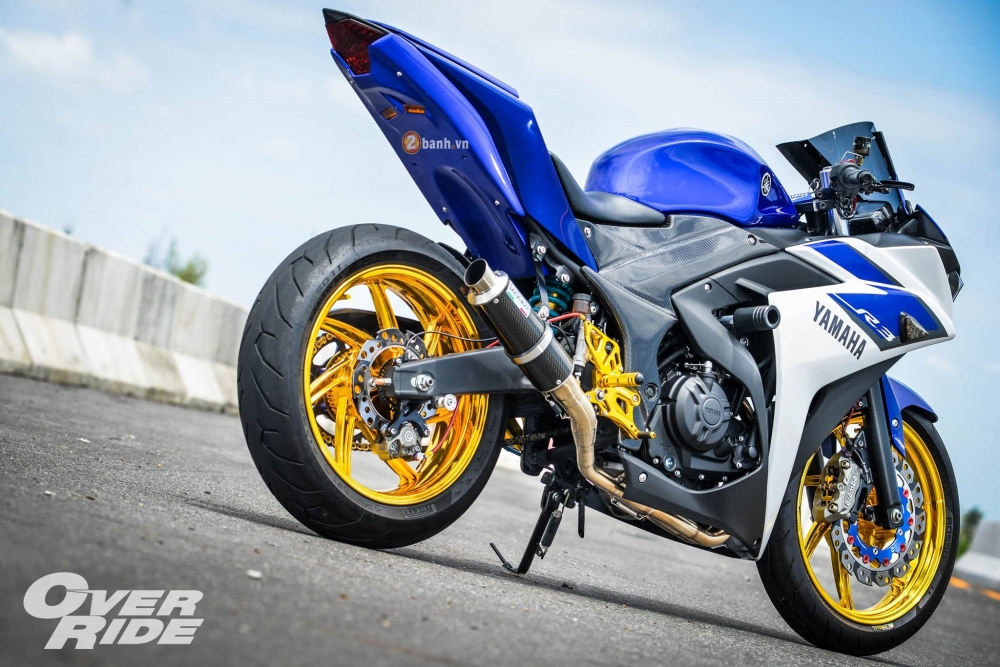 Yamaha R3 do day an tuong trong phien ban Blood RSeries - 4