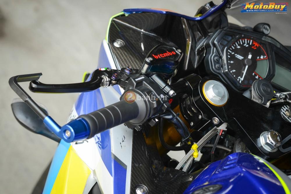 Yamaha R3 noi bat trong ban do cuc chat voi phong cach Valentino Rossi - 5