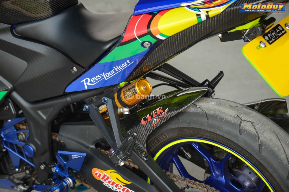 Yamaha R3 noi bat trong ban do cuc chat voi phong cach Valentino Rossi - 9