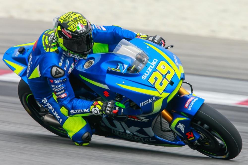 MotoGP Andrea Iannone da co su khoi dau kha quan voi Suzuki trong nam moi