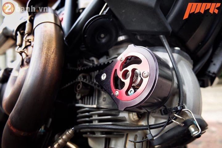 Ducati Scrambler ca tinh hon trong ban do voi phong cach Tracker - 11