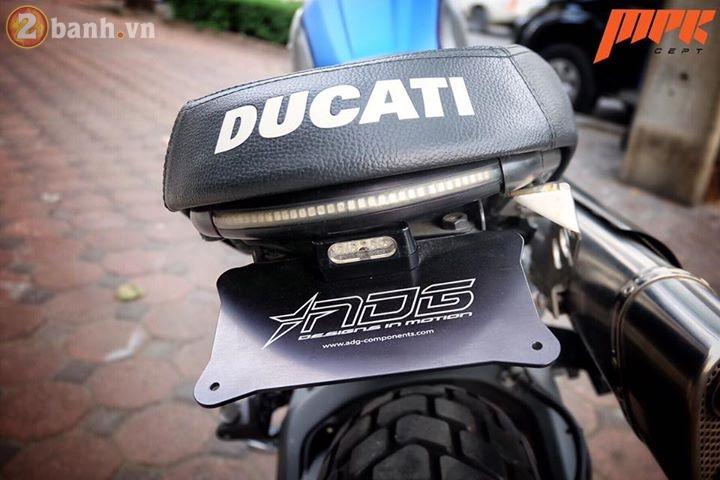 Ducati Scrambler ca tinh hon trong ban do voi phong cach Tracker - 13