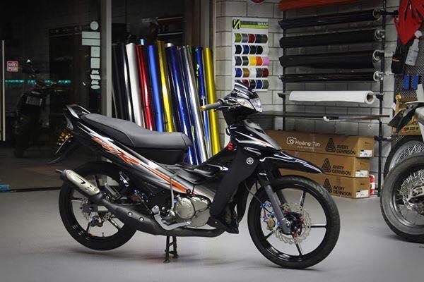 Het hon voi ban do sieu khung cua Yamaha Z125