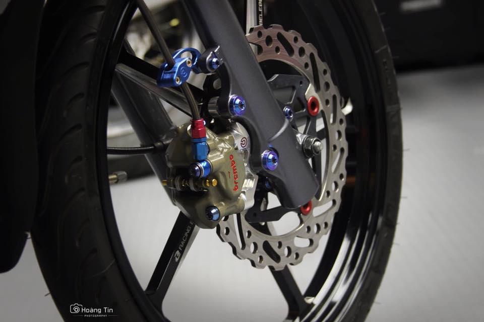 Het hon voi ban do sieu khung cua Yamaha Z125 - 5
