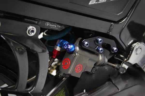 Het hon voi ban do sieu khung cua Yamaha Z125 - 6