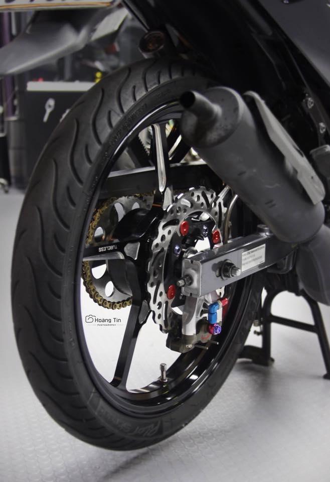 Het hon voi ban do sieu khung cua Yamaha Z125 - 8